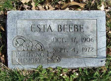BEEBE, ESTA PEARL - Benton County, Arkansas   ESTA PEARL BEEBE - Arkansas Gravestone Photos