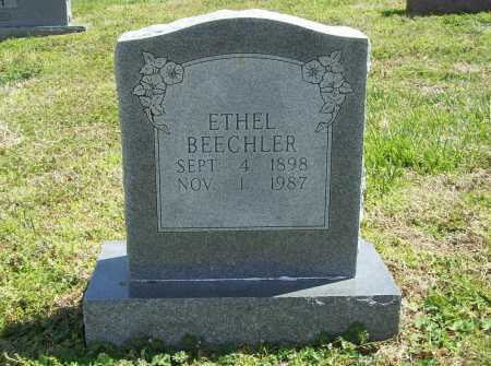 BEECHLER, ETHEL - Benton County, Arkansas | ETHEL BEECHLER - Arkansas Gravestone Photos