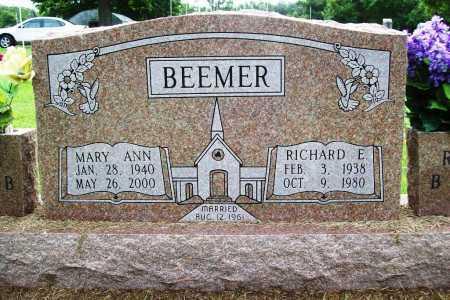 BEEMER, MARY ANN - Benton County, Arkansas | MARY ANN BEEMER - Arkansas Gravestone Photos