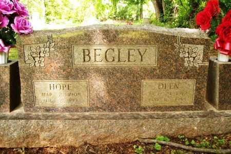 BEGLEY, HOPE - Benton County, Arkansas   HOPE BEGLEY - Arkansas Gravestone Photos