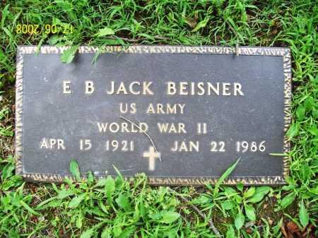 BEISNER (VETERAN WWII), ERNEST B JACK - Benton County, Arkansas | ERNEST B JACK BEISNER (VETERAN WWII) - Arkansas Gravestone Photos