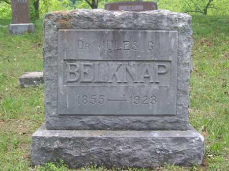BELKNAP, DR. JULES G. - Benton County, Arkansas   DR. JULES G. BELKNAP - Arkansas Gravestone Photos
