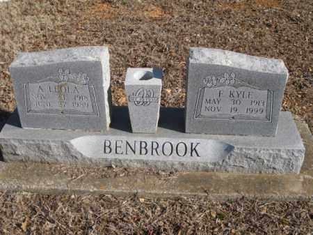 BENBROOK, ADELIA LEOLA - Benton County, Arkansas | ADELIA LEOLA BENBROOK - Arkansas Gravestone Photos