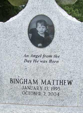 BENNETT, BINGHAM MATTHEW (CLOSEUP) - Benton County, Arkansas | BINGHAM MATTHEW (CLOSEUP) BENNETT - Arkansas Gravestone Photos