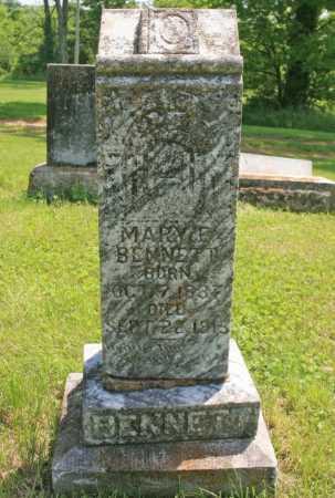BENNETT, MARY E. - Benton County, Arkansas | MARY E. BENNETT - Arkansas Gravestone Photos