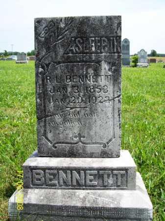 BENNETT, R. L. - Benton County, Arkansas   R. L. BENNETT - Arkansas Gravestone Photos