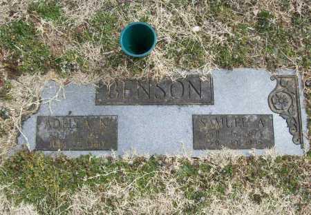 BENSON, ADELLA N. - Benton County, Arkansas | ADELLA N. BENSON - Arkansas Gravestone Photos