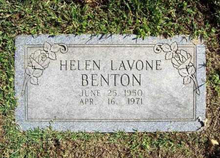 BENTON, HELEN LAVONE - Benton County, Arkansas   HELEN LAVONE BENTON - Arkansas Gravestone Photos