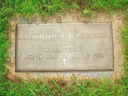 BERGENDAHL (VETERAN WWII), MAXIMILIAN H. - Benton County, Arkansas | MAXIMILIAN H. BERGENDAHL (VETERAN WWII) - Arkansas Gravestone Photos