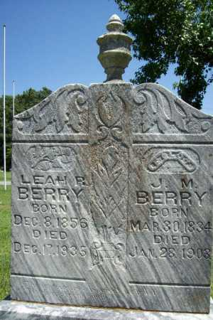 BERRY, LEAH R. - Benton County, Arkansas | LEAH R. BERRY - Arkansas Gravestone Photos