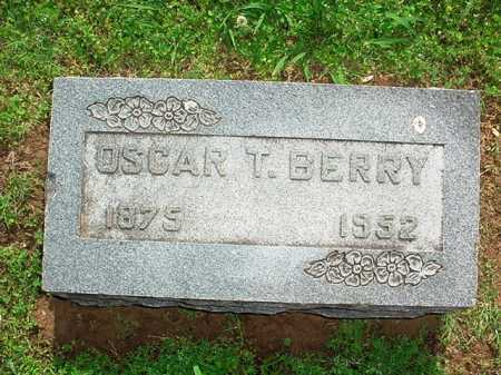 BERRY, OSCAR T. - Benton County, Arkansas | OSCAR T. BERRY - Arkansas Gravestone Photos