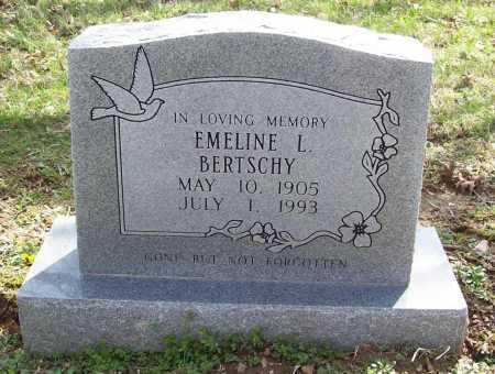 BERTSCHY, EMELINE - Benton County, Arkansas | EMELINE BERTSCHY - Arkansas Gravestone Photos