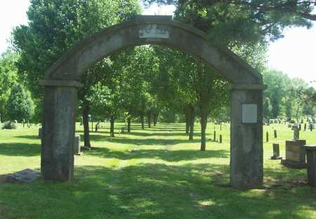 *BETHEL CEMETERY ENTRANCE,  - Benton County, Arkansas |  *BETHEL CEMETERY ENTRANCE - Arkansas Gravestone Photos