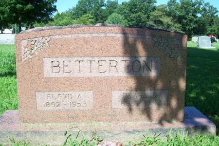 BETTERTON, FLOYD A. - Benton County, Arkansas | FLOYD A. BETTERTON - Arkansas Gravestone Photos