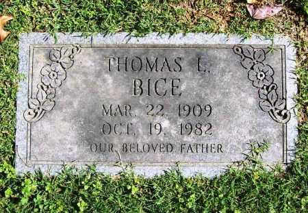 BICE, THOMAS L. - Benton County, Arkansas | THOMAS L. BICE - Arkansas Gravestone Photos