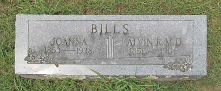 BILLS, ALVIN ROBY M D - Benton County, Arkansas | ALVIN ROBY M D BILLS - Arkansas Gravestone Photos