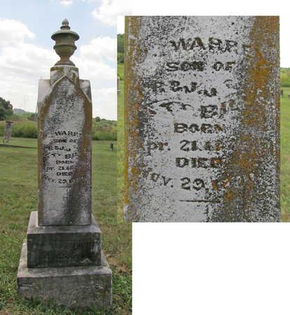 BILLS, J WARREN - Benton County, Arkansas | J WARREN BILLS - Arkansas Gravestone Photos
