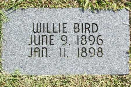 BIRD, WILLIE (REPLACEMENT) - Benton County, Arkansas | WILLIE (REPLACEMENT) BIRD - Arkansas Gravestone Photos