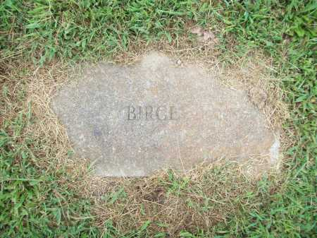 BIRGE, UNKNOWN - Benton County, Arkansas | UNKNOWN BIRGE - Arkansas Gravestone Photos
