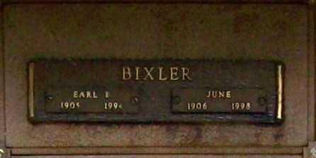 BIXLER, JUNE - Benton County, Arkansas | JUNE BIXLER - Arkansas Gravestone Photos