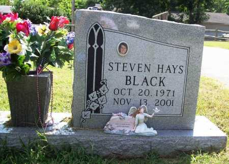 BLACK, STEVEN HAYS - Benton County, Arkansas   STEVEN HAYS BLACK - Arkansas Gravestone Photos