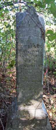BLACK (VETERAN CSA), WILLIAM WOODS  - Benton County, Arkansas | WILLIAM WOODS  BLACK (VETERAN CSA) - Arkansas Gravestone Photos