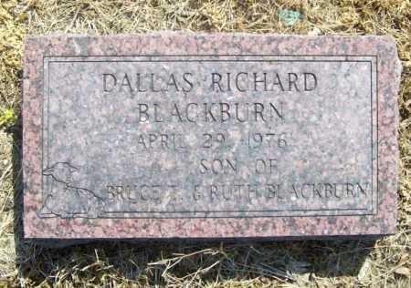 BLACKBURN, DALLAS RICHARD - Benton County, Arkansas | DALLAS RICHARD BLACKBURN - Arkansas Gravestone Photos