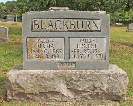 BLACKBURN, ERNEST - Benton County, Arkansas | ERNEST BLACKBURN - Arkansas Gravestone Photos