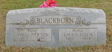COWAN BLACKBURN, LAURA ELLEN - Benton County, Arkansas | LAURA ELLEN COWAN BLACKBURN - Arkansas Gravestone Photos