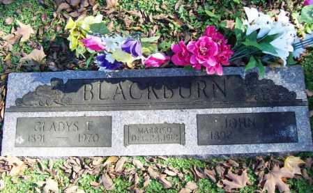 ECTON BLACKBURN, GLADYS EDITH - Benton County, Arkansas | GLADYS EDITH ECTON BLACKBURN - Arkansas Gravestone Photos
