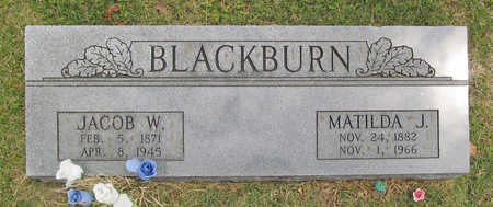 BLACKBURN, MATILDA JANE - Benton County, Arkansas | MATILDA JANE BLACKBURN - Arkansas Gravestone Photos