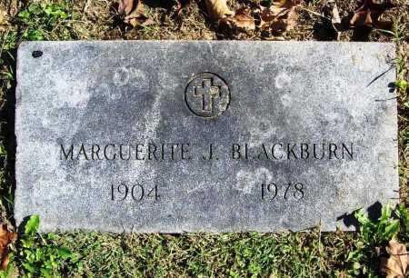 BLACKBURN, MARGUERITE J. - Benton County, Arkansas | MARGUERITE J. BLACKBURN - Arkansas Gravestone Photos
