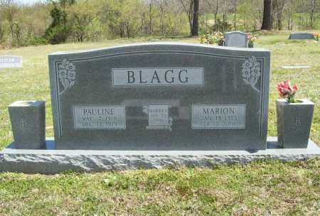 BLAGG (VETERAN WWII), MARION - Benton County, Arkansas | MARION BLAGG (VETERAN WWII) - Arkansas Gravestone Photos