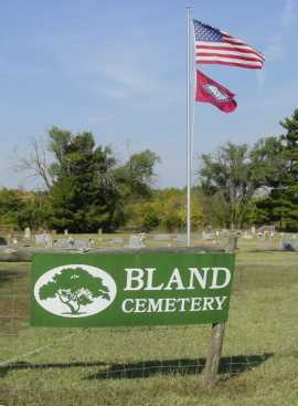*BLAND CEMETERY,  - Benton County, Arkansas    *BLAND CEMETERY - Arkansas Gravestone Photos