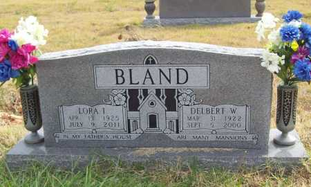 BLAND (VETERAN WWII), DELBERT WILBURN - Benton County, Arkansas | DELBERT WILBURN BLAND (VETERAN WWII) - Arkansas Gravestone Photos