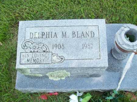 BLAND, DELPHIA M. - Benton County, Arkansas | DELPHIA M. BLAND - Arkansas Gravestone Photos