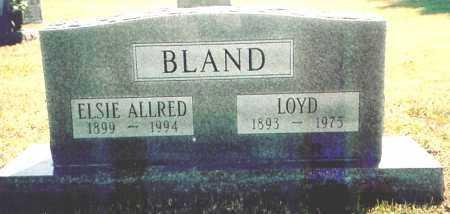 BLAND, ELSIE - Benton County, Arkansas | ELSIE BLAND - Arkansas Gravestone Photos