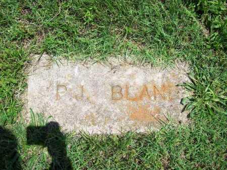 BLAND, P. J. - Benton County, Arkansas | P. J. BLAND - Arkansas Gravestone Photos