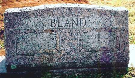 BLAND, STANLEY E. - Benton County, Arkansas | STANLEY E. BLAND - Arkansas Gravestone Photos