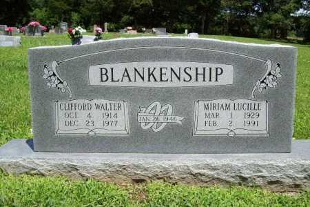 BLANKENSHIP, CLIFFORD WALTER - Benton County, Arkansas | CLIFFORD WALTER BLANKENSHIP - Arkansas Gravestone Photos