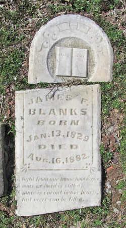 BLANKS, JAMES F - Benton County, Arkansas | JAMES F BLANKS - Arkansas Gravestone Photos