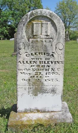 BLEVINS, CLERISA - Benton County, Arkansas   CLERISA BLEVINS - Arkansas Gravestone Photos