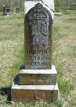 BLEVINS, HUGH - Benton County, Arkansas   HUGH BLEVINS - Arkansas Gravestone Photos