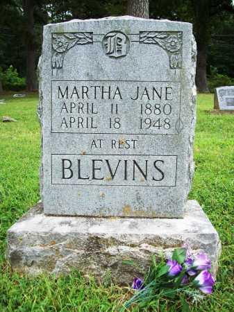 BLEVINS, MARTHA JANE - Benton County, Arkansas | MARTHA JANE BLEVINS - Arkansas Gravestone Photos