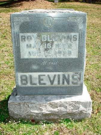 BLEVINS, ROY - Benton County, Arkansas   ROY BLEVINS - Arkansas Gravestone Photos