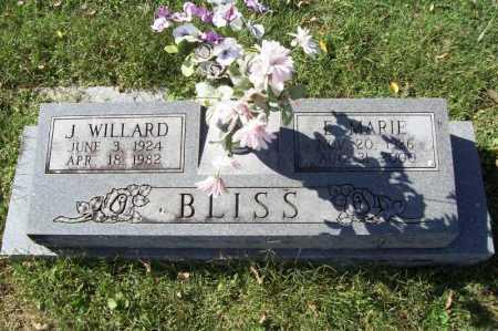 BLISS, JOHN WILLARD JR. - Benton County, Arkansas | JOHN WILLARD JR. BLISS - Arkansas Gravestone Photos