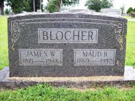 BLOCHER, JAMES WILLIS - Benton County, Arkansas | JAMES WILLIS BLOCHER - Arkansas Gravestone Photos