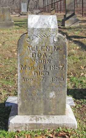 BOAZ, ALLEN M - Benton County, Arkansas | ALLEN M BOAZ - Arkansas Gravestone Photos