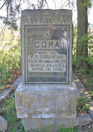 MILLER BOGARDUS, CORA - Benton County, Arkansas | CORA MILLER BOGARDUS - Arkansas Gravestone Photos