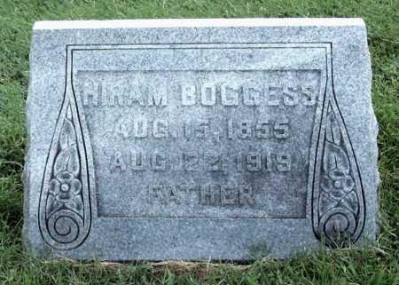 BOGGESS, HIRAM - Benton County, Arkansas   HIRAM BOGGESS - Arkansas Gravestone Photos